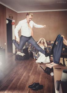 Свадебная фотосессия в доме, Свадебный фотограф Киев, фотограф на свадьбу, Ященко Павел