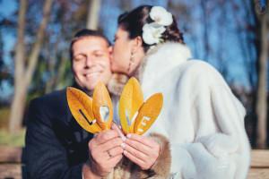 осенняя свадебная фотосессия в м�