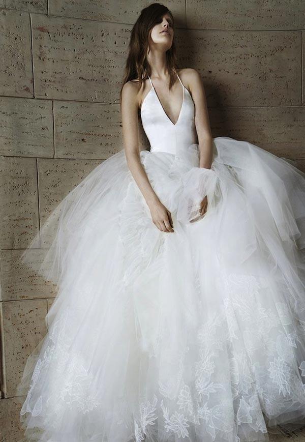 Модные свадебные платья 2015  (15)