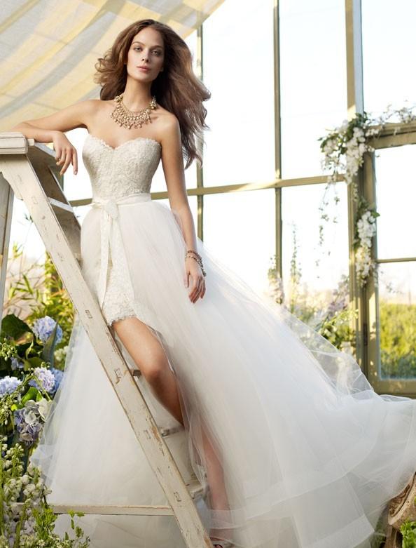 Модные свадебные платья 2015  (22)