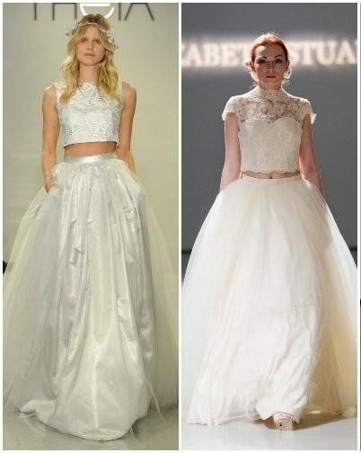 Модные свадебные платья 2015  (23)