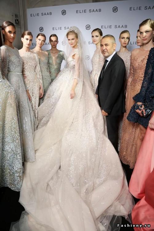 Модные свадебные платья 2015 (4)