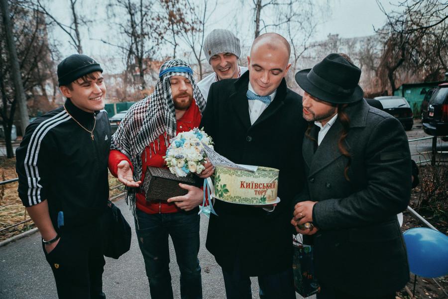 Фотосессия сборов невесты и выкупа, фотограф Павел Ященко