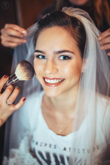 фото сборы невесты, макияж, платья