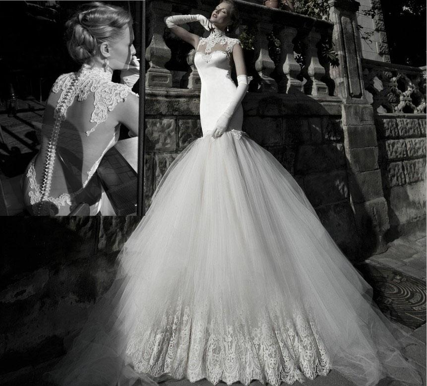 Свадебные платья модные (2)