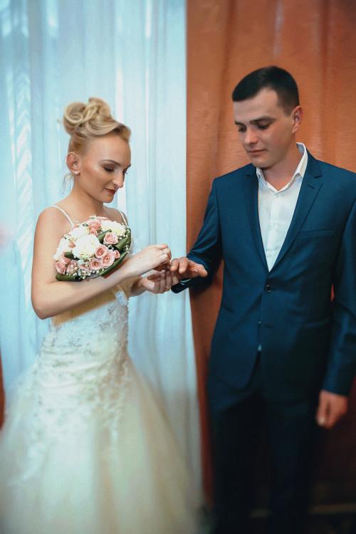 свадебная фотосессия (фотография) в подольском ЗАГС-е