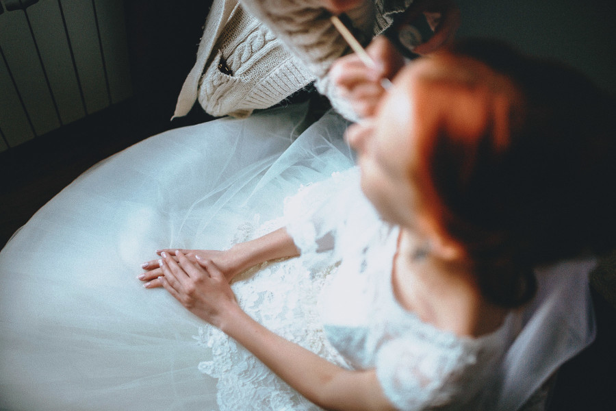 свадебная фотосессия сборов невесты, фотографы Павел и Татьяна Ященко, Y-Family